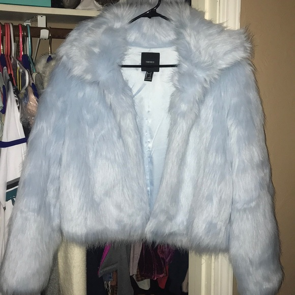 Forever 21 Jackets & Blazers - Faux jacket